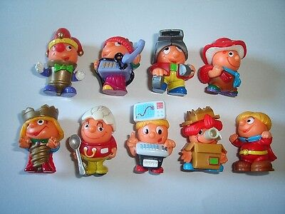 FIGURES TOYS COLLECTIBLES KINDER SURPRISE SET ICE HOCKEY PLAYERS PEOPLE 1998