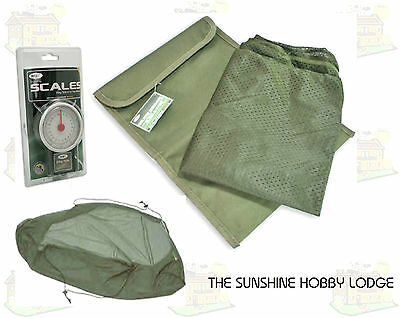 Carp Coarse Fishing Weigh Weighing Sling With Stink Bag & 50lb Scales New Combo