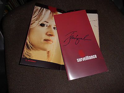 Julia Ormond SURVEILLANCE Cannes pressbook JENNIFER LYNCH handsigned IN PERSON!