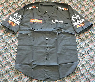 Mazda Rx8 Race Pit Crew Team Shirt Size Xl