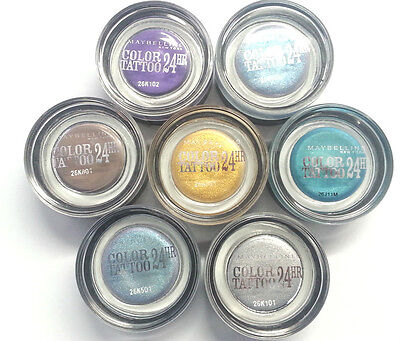 Maybelline Color Tattoo 24HR Gel Cream Eye Shadow - Available in 7 Shades