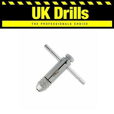 Ratchet Tap Wrench, Holder For Use With Hss Hand Tap Sets, M3 - M10 & M5 - M12