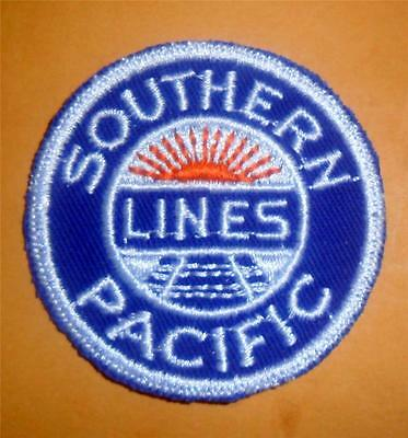 Vintage Southern Pacific Lines Railroad Patch NICE Condition LOOK