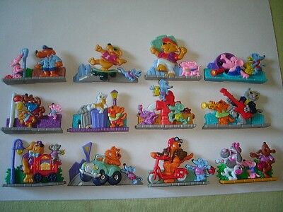 Kinder Surprise Set - 3D Puzzle Street Life Cats Dogs Mice 96 Toys Collectibles