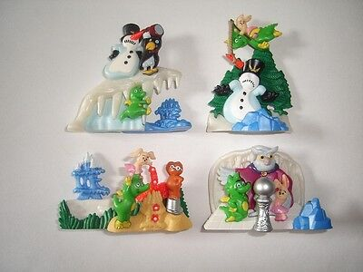 Kinder Surprise Set - 3D Puzzle Tabaluga Dragon Winter 2001 - Toys Collectibles