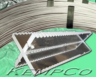 x2 KempCo HHO Cell Tower Blank, .045 316L SS, .045 Wire, +free Gasket & Template