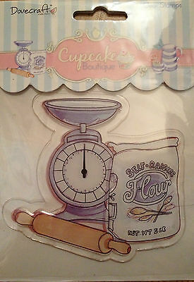 Dovecraft Cupcake Boutique Baking Stamp