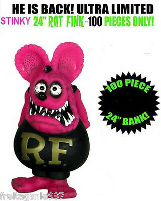 RAT FINK 60cm `Pink´ version Funko