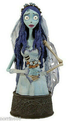 CORPSE BRIDE THE BRIDE & PASTOR GALSWELLS 2 resin-busts 16-30cm Gentle Giant