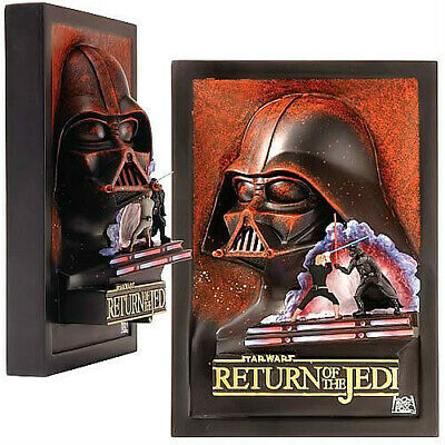 STAR WARS  DARTH VADER RETURN OF THE JEDI - 3D mini resin-poster by Code3