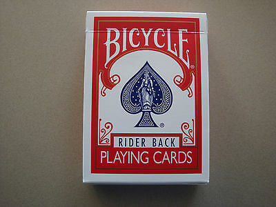 Blank Back Bicycle Deck Poker Size Gaff Playing Cards Magic Card Tricks Gimmick