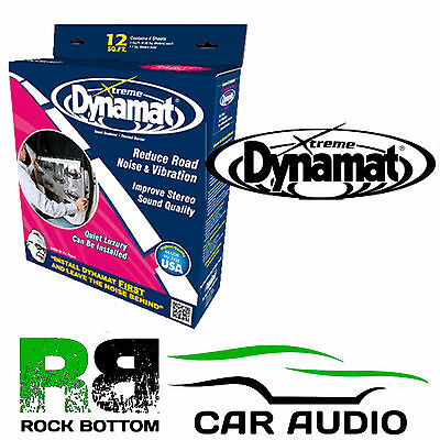 Dynamat DYN10435 Extreme Xtreme Door Kit 4 sheets 30.5 x 91.4  Sound Deadening