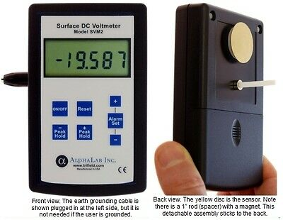 Static  Electricity Meter  High Impedance Volt Meter
