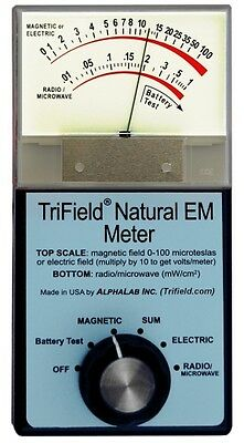 Trifield Natural Em Meter The Model 1 Nem