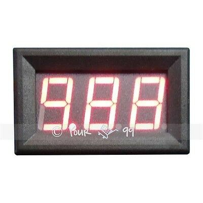 Mini Red LED DC Amp Current Meter Ammeter 0-10A UK SALE New