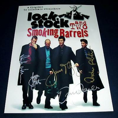 Lock Stock & Two Smoking Barrels Pp Signed Poster 12X8