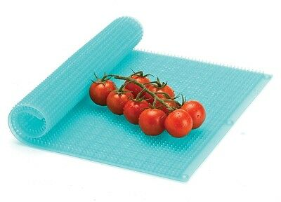 2Pack! SILICONE Refrigerator drawer  bin mat* Liners* Keeps vegetables FRESH!