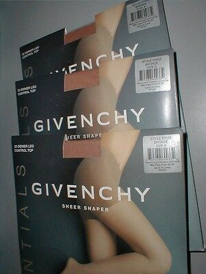 ****sale 3 Givenchy Sheer Shaper Pantyhose Stocking -  Bronze Size A 01052