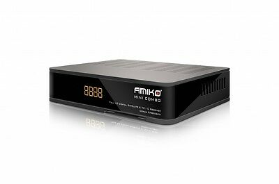 Amiko Mini Combo Satellite & Terrestrial Freesat/Saorview DVB-S2 + DVB-T2/C