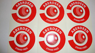 New Aberdeen 16 Crown Green Bowls Stickers Lawn Bowls    8 Thumb 8 Finger