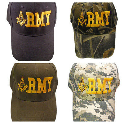 Army Mason Hat Cap Embroidered in the USA 877PC