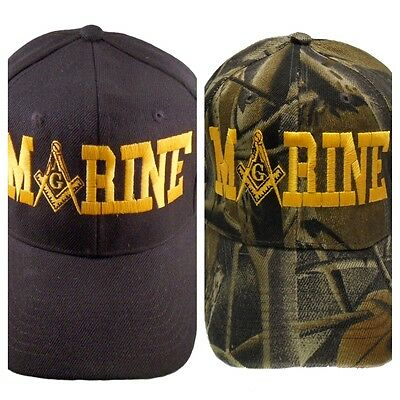 Marine Mason Hat Cap Embroidered in the USA 879PC