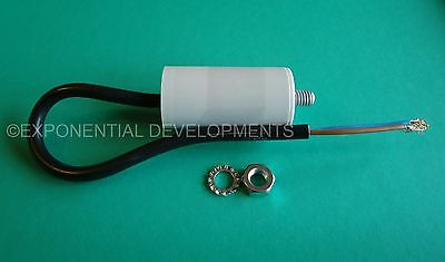 3uf CAPACITOR MOTOR RUN Universal 400v 450v 3mfd  FLYING LEAD.....1st CLASS POST