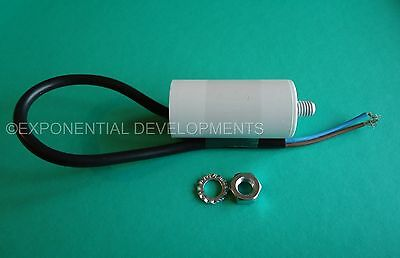 1uf CAPACITOR MOTOR RUN Universal 400v  450v 1mfd FLYING LEAD.....1st CLASS POST