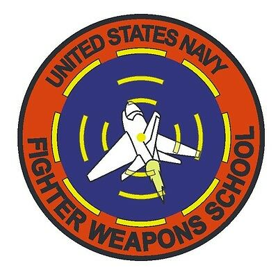US Navy Fighter Weapons School Vinyl Decal Sticker Military Armed Forces R294