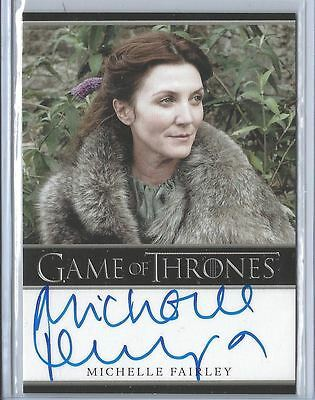 Michelle Fairley ++ Autogramm ++ Game of Thrones ++ Harry Potter Autograph