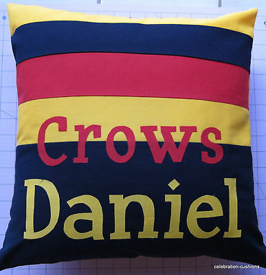 Adelaide Crows Afl Personalised Cushion Cover Gift