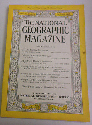The National Geographic Magazine QM The Fighting Storekeeper Nov 1942 082913R