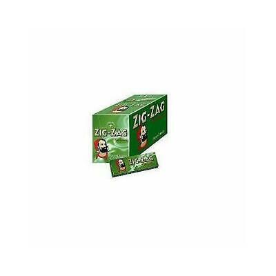 Brand New: Finest Quality Zigzag Green Regular Cigarette Rolling Papers