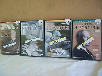 dvd lot 4 estate special edition Alfred Hitchcock movies Murder Jamaica Inn etc