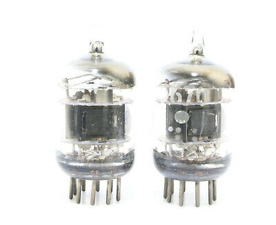 Match 1 Pair GE 5670 3 mica SQ getter TUBES = 2C51 6N3 396A Western Electric