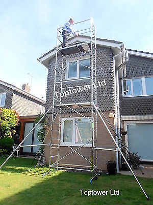 Best DIY Aluminium Scaffold Tower Up To 7.0m (WH) Trap Platform, Optional Extras