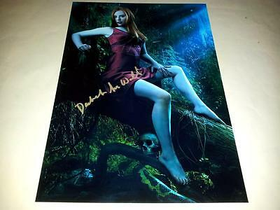 "Deborah Ann Woll True Blood Pp Signed 12""x8"" Poster Jessica"