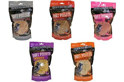 Suet To Go Wild Bird Food High Energy Pellets 550g all year round feed