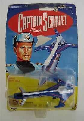 Captain Scarlet and the Mysterons Capt. Blue's Spectrum Jet Liner Toy