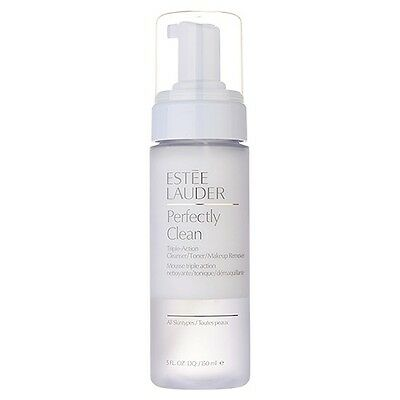 Estee Lauder Perfectly Clean Triple-Action Cleanser/ Toner/ Makeup Remover #7811