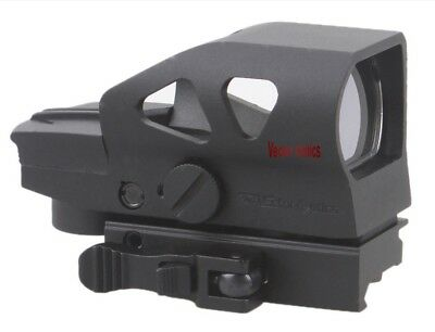Vector Optics Ratchet 4 Reticle Red/Green Dot Sight w Quick Release QD Mount
