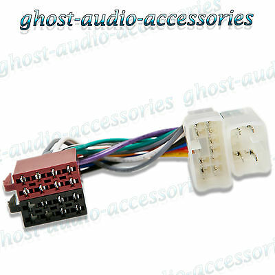 Toyota Yaris 1999 onwards ISO Car Radio Stereo Harness Adapter Wiring Connector