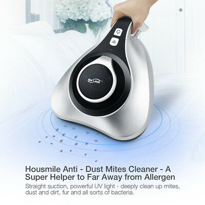 Handheld UV Anti-Dust Mites Vacuum Cleaner HEPA Filtration Bed Pillow Mattresses