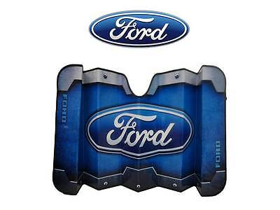 Ford Accordian Windshield Sun Shade Visor Fits All Ford Cars Trucks Suv's