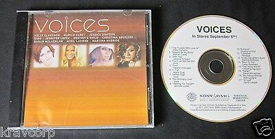 Kelly Clarkson/mariah Carey/sade 'Voices' 2005 Advance Cd—Destiny'S Child/avril