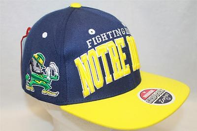 """Notre Dame Fighting Irish Snapback Hat Cap """"The Super Star"""" by Zephyr NCAA"""