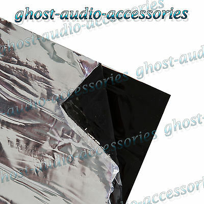 SoundMat 8 sheets 300mm x 170mm Deadening Sound Proofing Vibration Damping Mat
