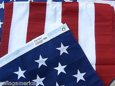 Valley Forge US American Flag 3'x5' Poly/Cotton 100% Made in the USA