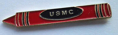 USMC RED CRAYON  US MARINE CORPS /Military Veteran Hat Pin P14200 EE