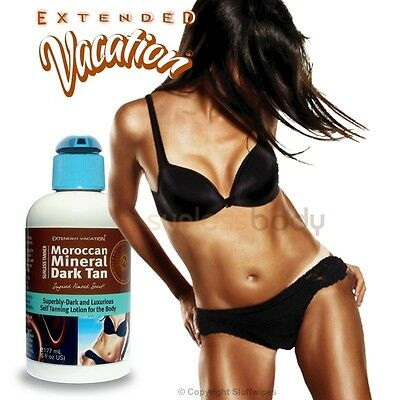 Self Tanning MOROCCAN MINERAL Dark Tan Sunless Lotion